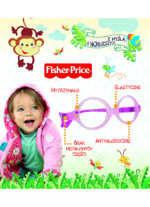 okulary fisher price